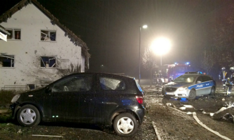 Father blows himself up in car after family row