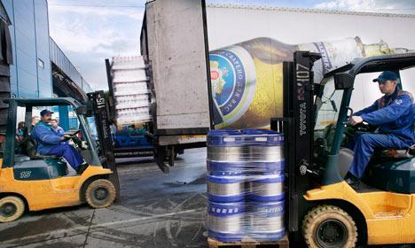 Carlsberg profit falls as sanctions hit Russia