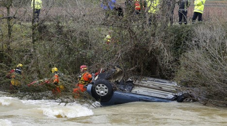 Five die in French storms over black weekend