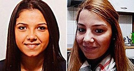 Missing Austrian teens are 'near Syria'