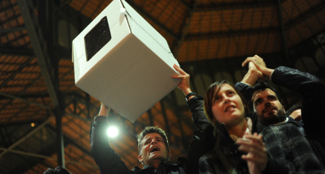 80 percent vote 'yes' to independent Catalonia