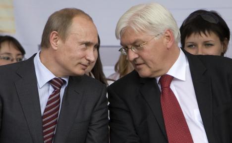 Steinmeier presses Putin in surprise meeting