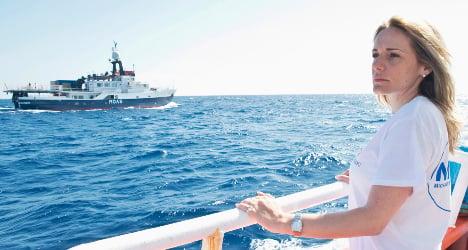 The Italian saving boat migrants