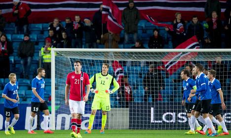 Norway lose 1-0 to Estonia in friendly