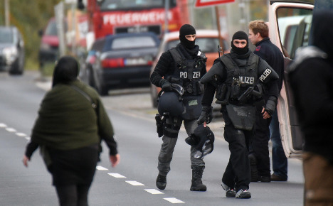 Arrest ends Leverkusen explosion threats