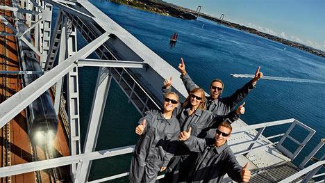 'Bridge walking' comes to Denmark