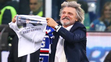 Sampdoria president faces racism probe