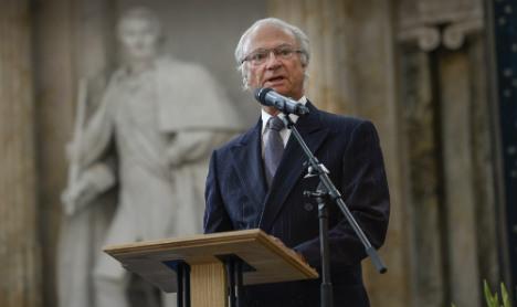 Swedish King marks Palestine national day