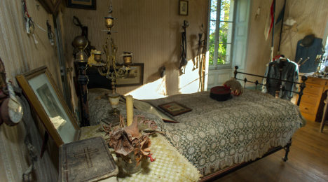 World War One soldier's bedroom left untouched