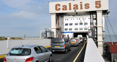 Ferry passenger goes overboard in Channel