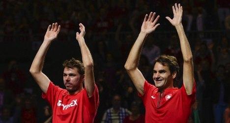 Wawrinka and Federer in all-Swiss semifinal