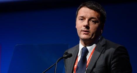 'I want to get Italians into work': Renzi