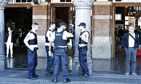 Danish police, military potential terrorist targets
