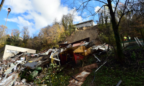 Mudslides kill four in Swiss-Italian border area