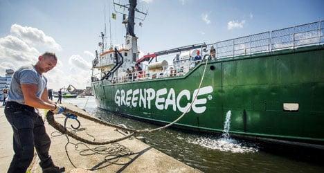 Spain seizes Greenpeace oil protest ship