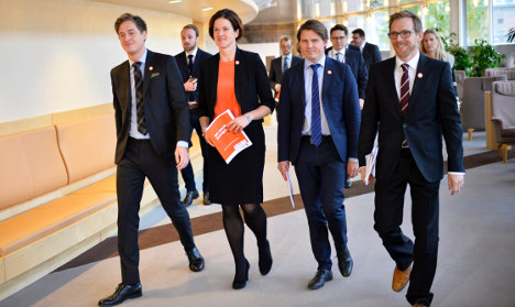 Sweden's shadow budget revealed by opposition
