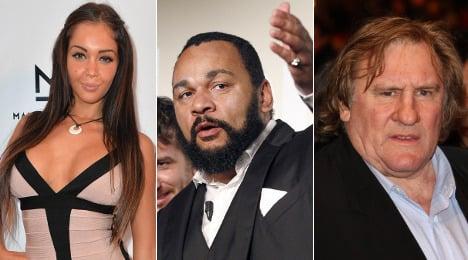 Top ten: France's most notorious celebrities
