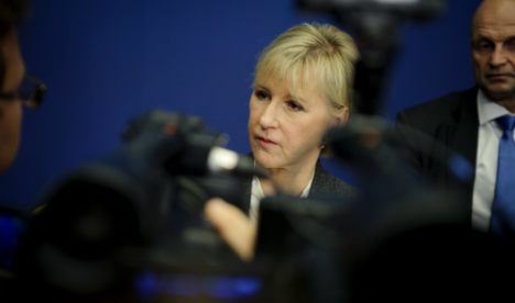 Wallström: Russia frightens the Swedes