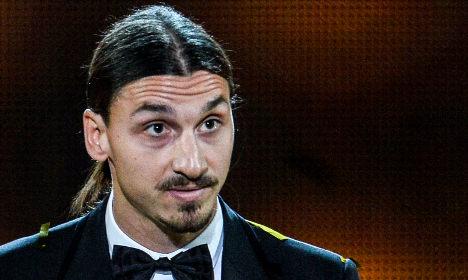 Zlatan wins record ninth 'Golden Ball' award