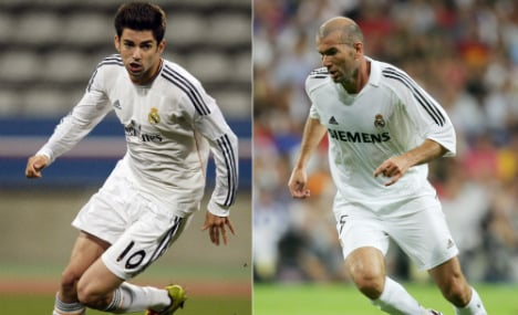 Zidane promotes son to Madrid reserves