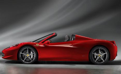 Man sues Munich for towing golden Ferrari