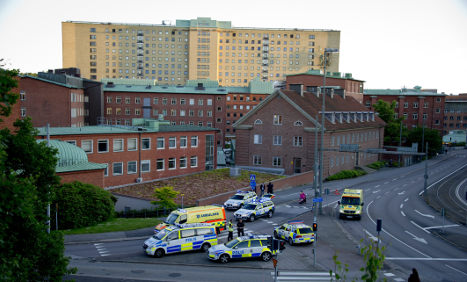 Six in hospital after Gothenburg Spice scare