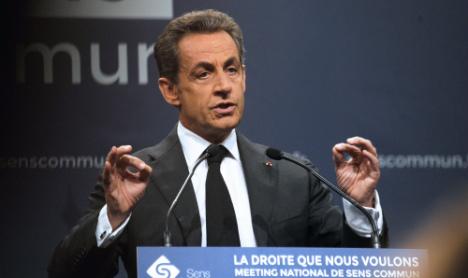 Sarkozy, Hollande clash over gay marriage law