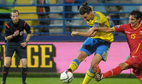 Sweden held despite Zlatan strike