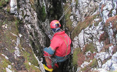 Skier who died 'decades ago' found in cave