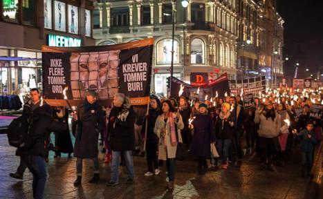 7,000 attend anti-fur demos across Norway