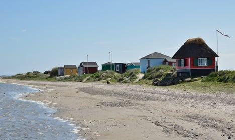 Denmark's coastline suddenly much longer