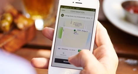 Uber starts app-driven ride service in Basel