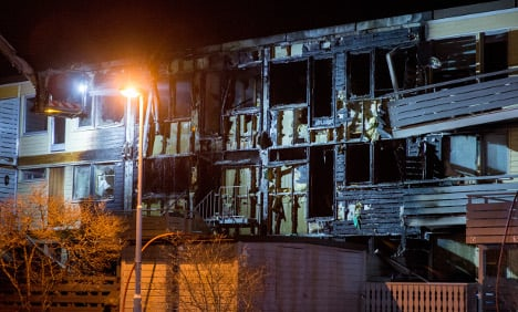 Man arrested after Trondheim house fire