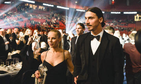 Zlatan refuses banquet with Sweden's King