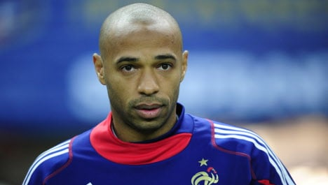 France's Thierry Henry to retire from football