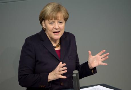 Merkel says Russia sanctions 'unavoidable'