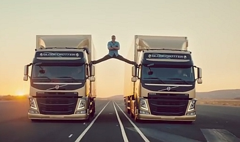 Volvo scoops award for viral Van Damme advert