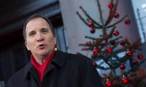Löfven pushes Swedish 'American Dream'