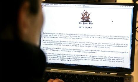 Swedish police launch raid against Pirate Bay