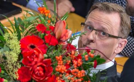 Linke politician takes reins in Thuringia