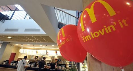 Porn film spices up fare at McDonald's restaurant