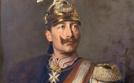 Kaiser Wilhelm II faces pan-European war