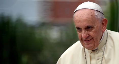 Pope lambasts lust for power within Vatican