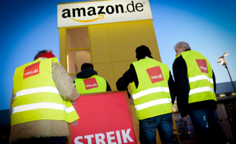 Amazon workers kick off three-day strike