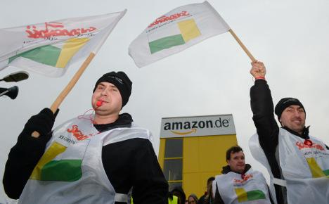 Amazon strike extended to Saturday