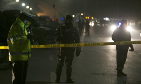 German killed in Afghan suicide attack