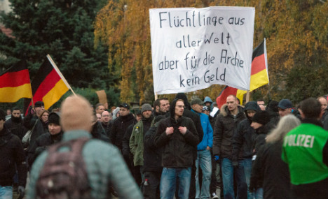 Xenophobia thrives in shadow of Berlin towers