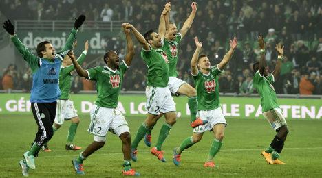 Saint Etienne win to end 20-year Lyon hoodoo