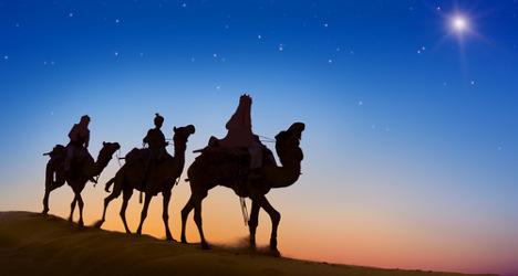 'Three Wise Men' fined for not wearing helmets