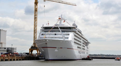 French shipyard boosted by €1.2b cruise ship deal